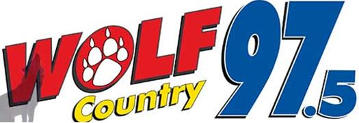 Image result for wolf country radio 97.5 logo